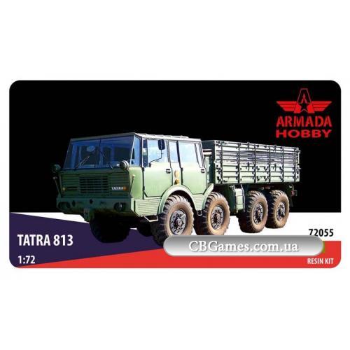 Грузовой автомобиль Tatra 813 (ARH-E72055) Масштаб:  1:72