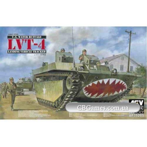 Гусеничная десантная машина LVT-4 (Early Type) (AF35205) Масштаб:  1:35
