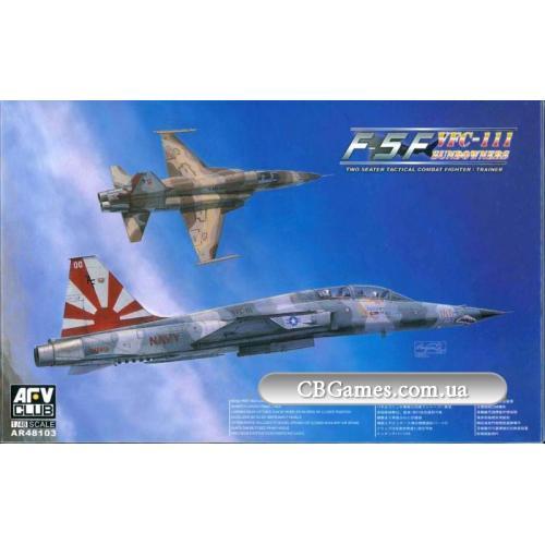 Истребитель F-5F (AF-AR48103) Масштаб:  1:48