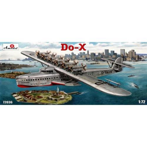 Летающая лодка Dornier Do-X (AMO72036) Масштаб:  1:72