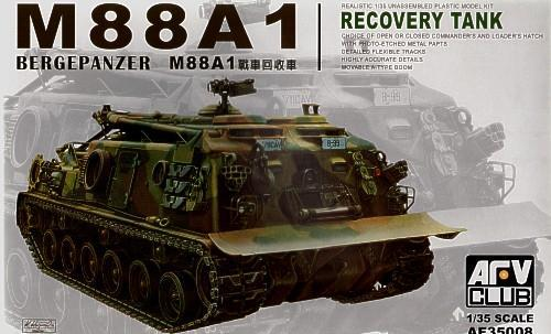 M88A1 RECOVERY VEHICLE (AF35008) Масштаб:  1:35