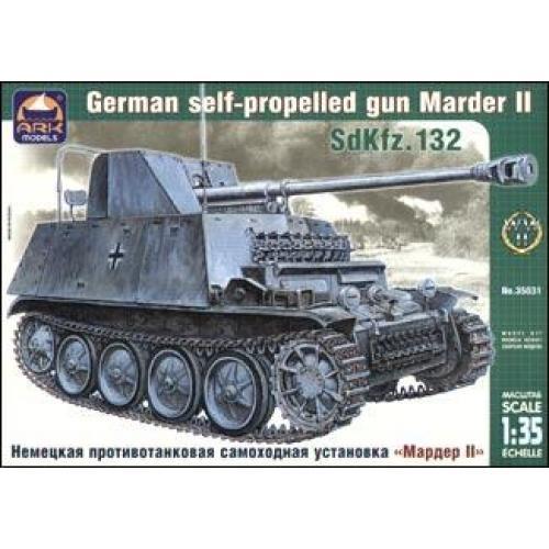 Marder II German self-propelled gun (ARK35031) Масштаб:  1:35