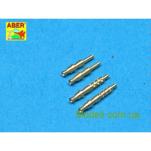 Набор из 4 стволов для немецкого авиационного пулемета 7,92 мм MG 17 (ABRA32-003) Масштаб:  1:32