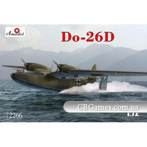 Немецкий дальний морской разведчик Dornier Do-26D (AMO72266) Масштаб:  1:72