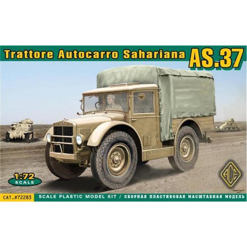 Полноприводный грузовик AS.37 (ACE72283) Масштаб:  1:72