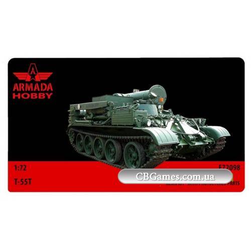Ремонтно-эвакуационная машина T-55T (ARH-E72098) Масштаб:  1:72