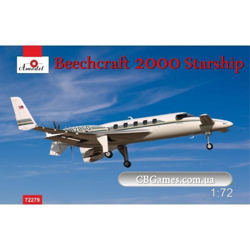 Самолет Beechcraft 2000 Starship №82850 (AMO72279) Масштаб:  1:72