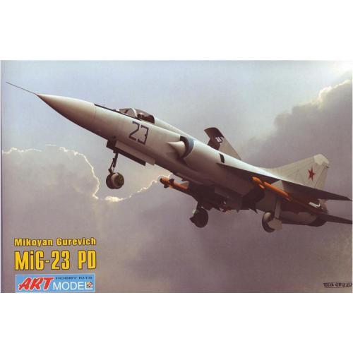 Самолет Микоян МИГ-23ПД (ART7208) Масштаб:  1:72