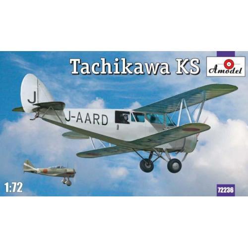 Санитарный самолет Тачикава (Tachikawa) KS (AMO72236) Масштаб:  1:72