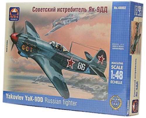Советский истребитель Як-9ДД (ARK48002) Масштаб:  1:48