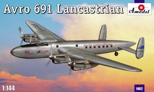 Транспортный самолет Avro 691 Lancastrian (AMO1462) Масштаб:  1:144