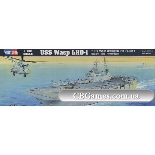 Американский десантный корабль Wasp LHD-1 (HB83402) Масштаб:  1:700