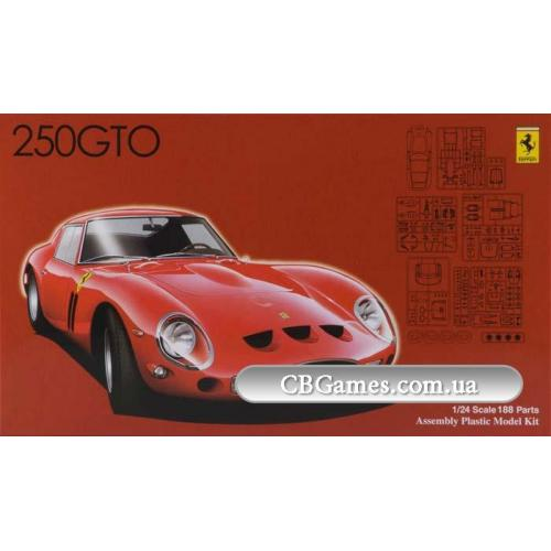 Автомобиль Ferrari 250 GTO (FU123370) Масштаб:  1:24