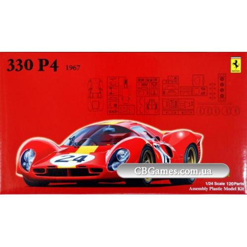 Автомобиль Ferrari 330P4 1967 (FU123578) Масштаб:  1:24