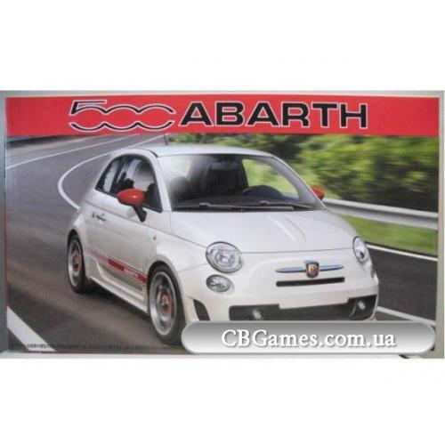 Автомобиль Fiat Abarth 500 (FU123721) Масштаб:  1:24