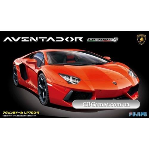 Автомобиль Lamborghini Aventador LP700-4 (FU123974) Масштаб:  1:24