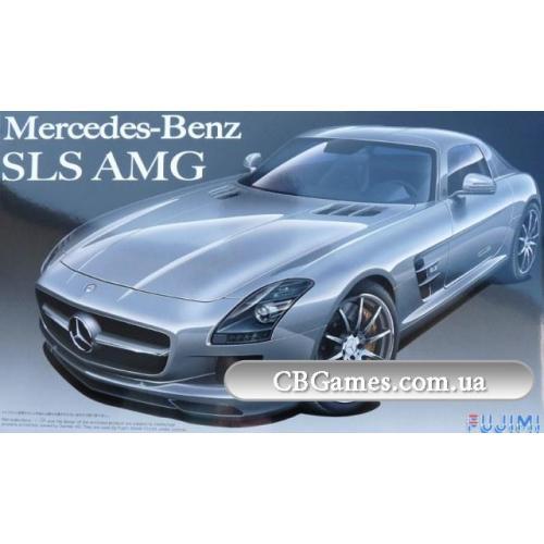 Автомобиль Mercedes-Benz AMG SLS (FU123929) Масштаб:  1:24