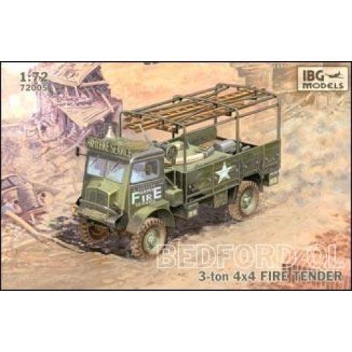 Bedford QL 3-ton 4x4 fire tender (IBG72005) Масштаб:  1:72