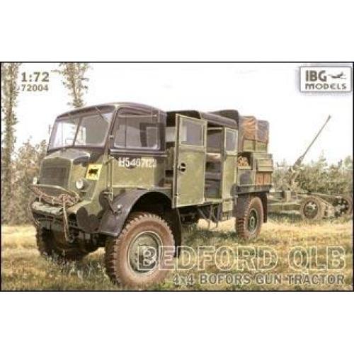 Bedford QLB 4x4 BOFORS gun tractor (IBG72004) Масштаб:  1:72