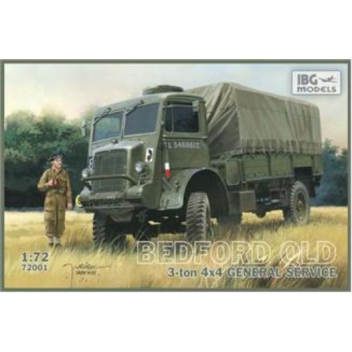 Bedford QLD 3 ton 4x4 General service (IBG72001) Масштаб:  1:72