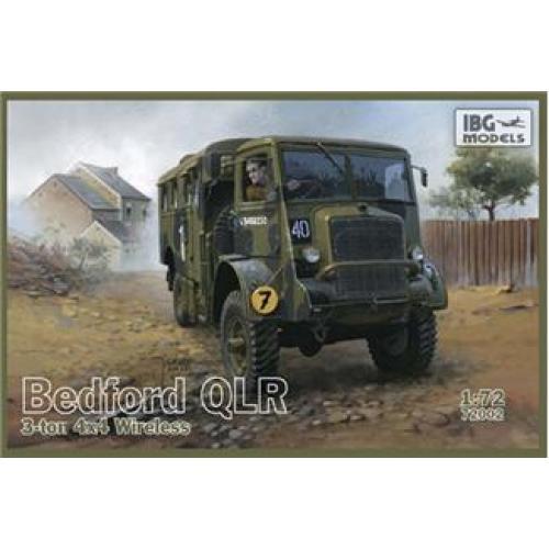Bedford QLR 3 ton 4x4 Wireless (IBG72002) Масштаб:  1:72