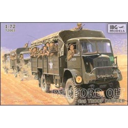 Bedford QLT 4x4 troop carrier (IBG72003) Масштаб:  1:72