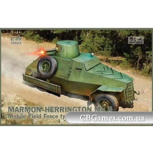 Бронеавтомобиль Marmon-Herrington Mk.II Mobile Field Force type (IBG35023) Масштаб:  1:35