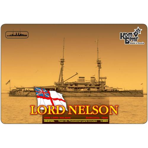Броненосец HMS Lord Nelson Battleship, 1908 (Full Hull version) (CG3521FH) Масштаб:  1:350