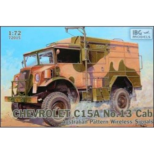 Chevrolet C15A No.13 Cab Australian Pattern Wireless / (IBG72015) Масштаб:  1:72