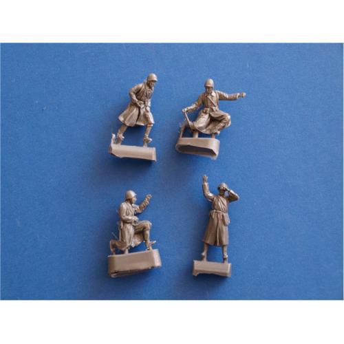 Фигурки солдат советской артиллерии (HAR72003R) Масштаб:  1:72