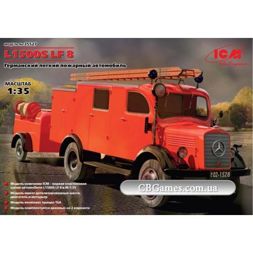 ICM35527  L1500S LF 8 German light fire truck