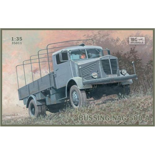 Грузовик BUSSING-NAG 500A (IBG35011) Масштаб:  1:35