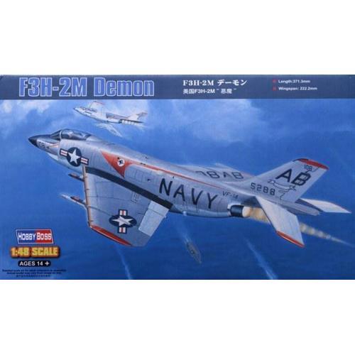 Истребитель F3H-2M  Demon (HB80365) Масштаб:  1:48