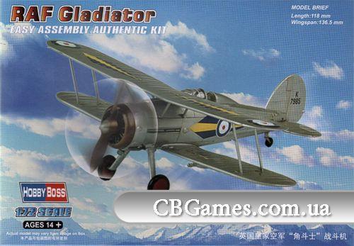Истребитель RAF Gladiator (HB80289) Масштаб:  1:72