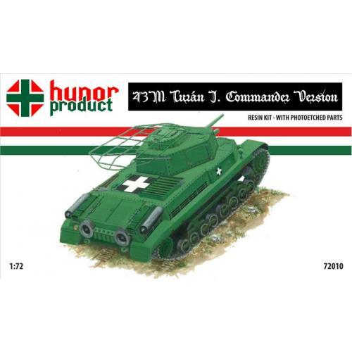 Командирский танк 43M (HNR72010) Масштаб:  1:72