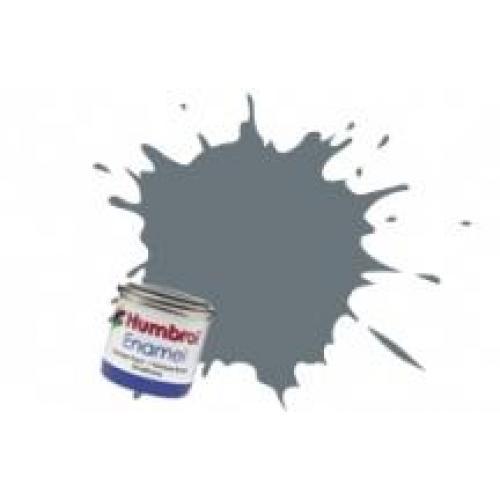 Краска эмалевая HUMBROL серая океан темная сатин (HUM-N164)