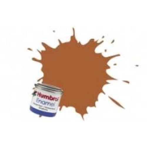 Краска эмалевая HUMBROL средне коричневая (глянцевая) (HUM-N009)