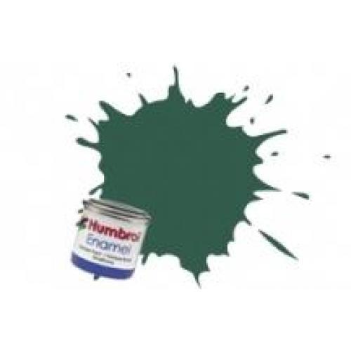 Краска эмалевая HUMBROL зеленая темная США матовая (HUM-N116)