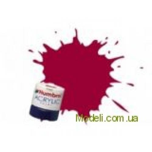 Краска водорастворимая HUMBROL малиновая (акриловая) (HUM-A020)