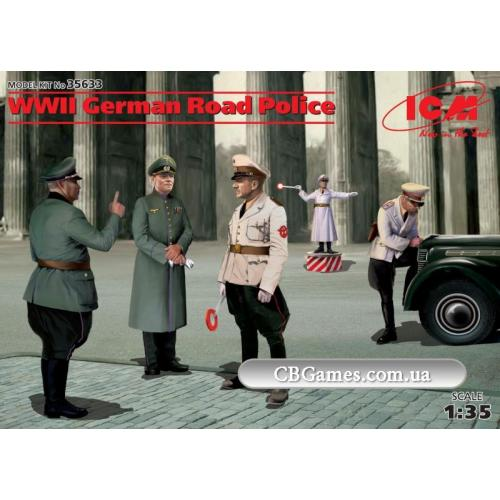 ICM35633  WWII German road police