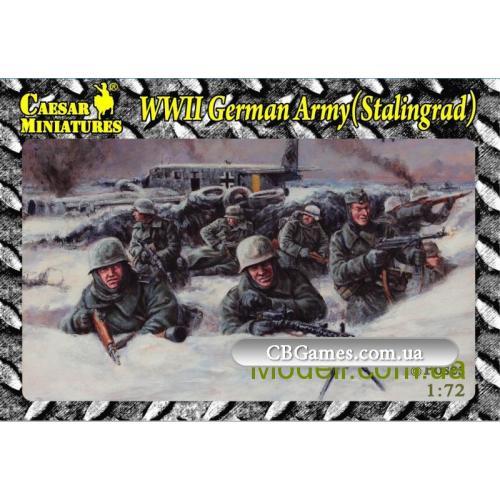 Немецкая пехота в Сталинграде ВОВ (CMHB09) Масштаб:  1:72