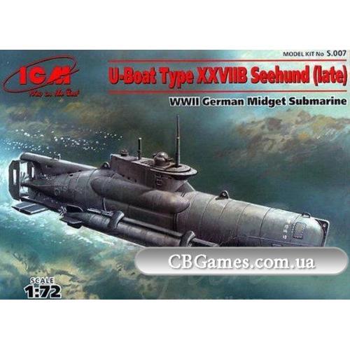 """ICMS007  U-Boat Type XXVII """"Zeehund"""", late prod"""