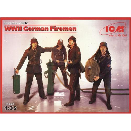 ICM35632  WWII German Firemen (4 figures)