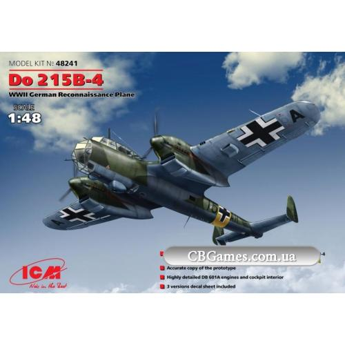 ICM48241  Do 215B-4 WWII German reconnaissance plane