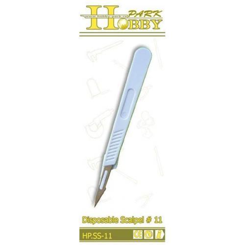 Одноразовый скальпель # 11 (HP-SS11)