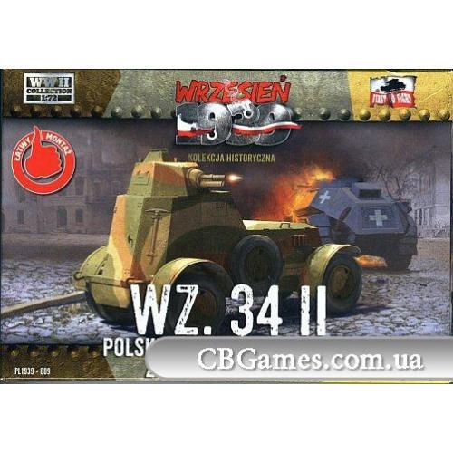 Польский бронеавтомобиль WZ.34 II (FTF009) Масштаб:  1:72