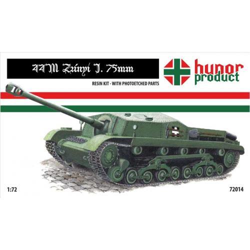 Самоходная артиллерийская установка 44M (HNR72014) Масштаб:  1:72