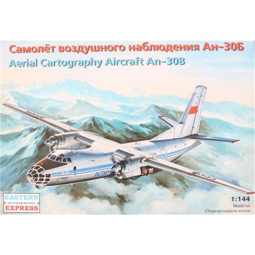 Самолёт воздушного наблюдения Ан-30Б (EE14472) Масштаб:  1:144