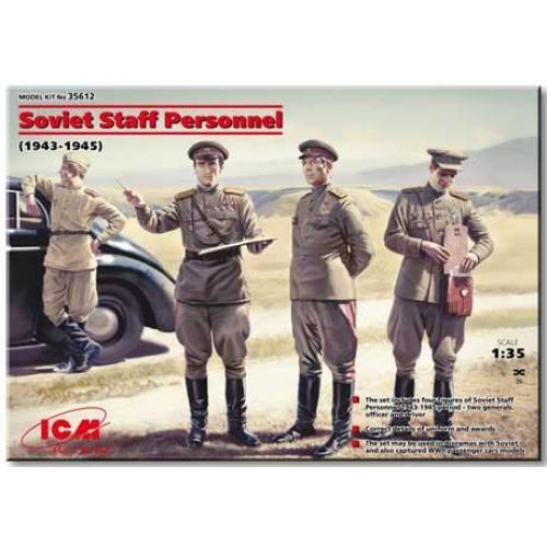 ICM35612  Soviet Staff Personnel (1939-1945) (4 figures)