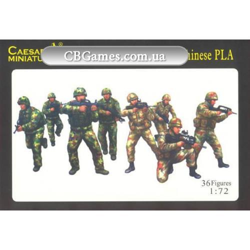 Современная французская пехота и пехота Народной армии Китая PLA (CMH059) Масштаб:  1:72